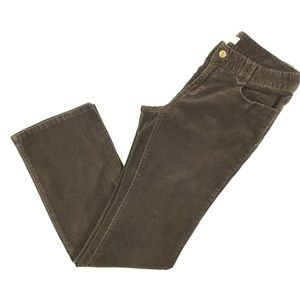Michael Kors Bootcut Corduroy Pants Womens 8 Brown